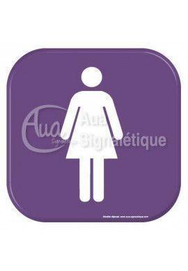 Autocollant Vinylopicto Toilettes femmes