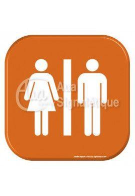 Autocollant Vinylopicto WC femmes handicapé