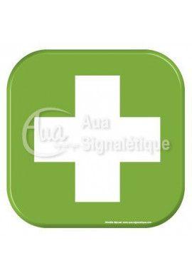 Autocollant Vinylopicto infirmerie