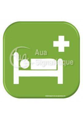 Autocollant Vinylopicto infirmerie 2