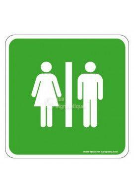 Toilettes Mixte EuropSign