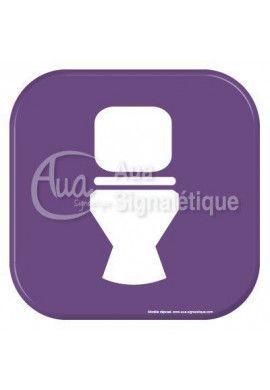 Autocollant Vinylopicto  WC propre