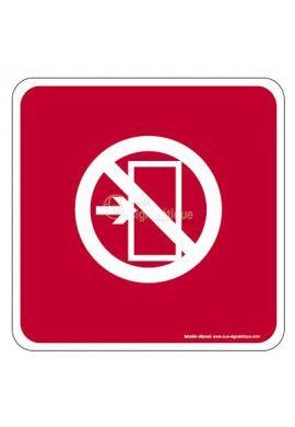 Sortie interdite EuropSign