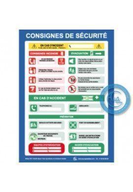 Consignes Générales de Sécurité Sectorielles