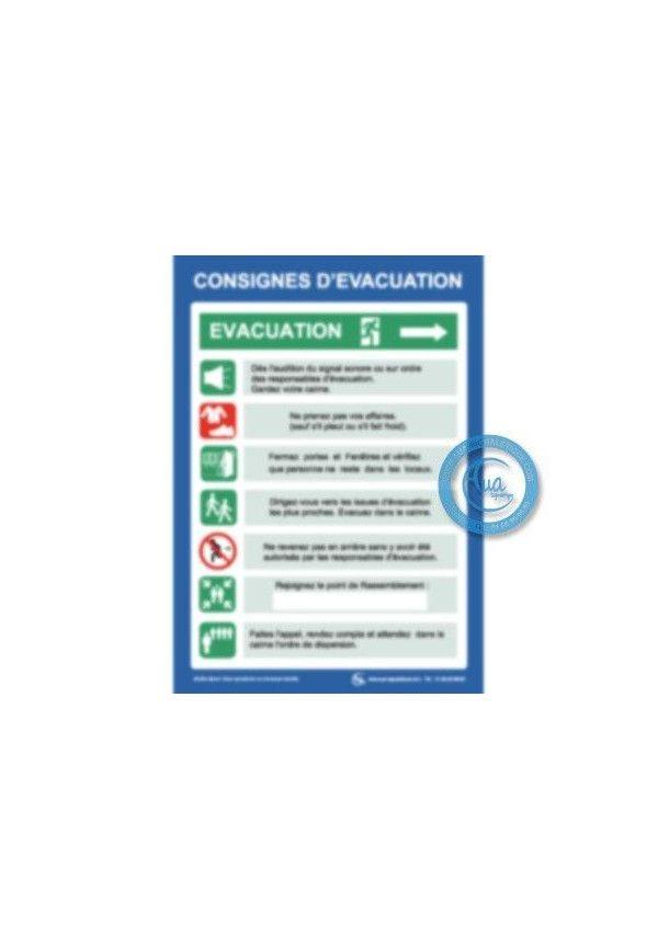 Consignes de Sécurité Évacuation