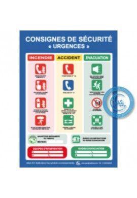 Consignes de Sécurité Urgences