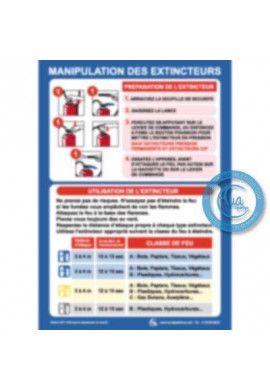 Consignes de Sécurité Manipulation Extincteurs