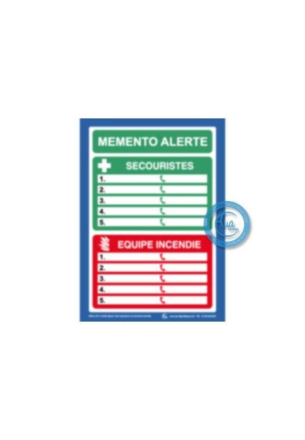 Consignes Secouristes