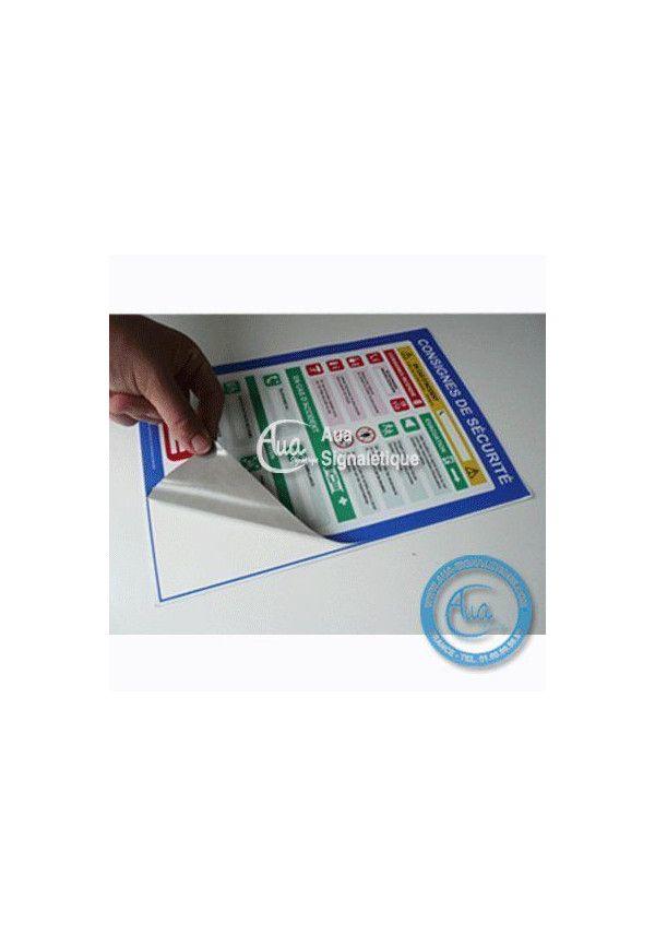 Consignes Générales de Sécurité Sectorielles Français/Anglais