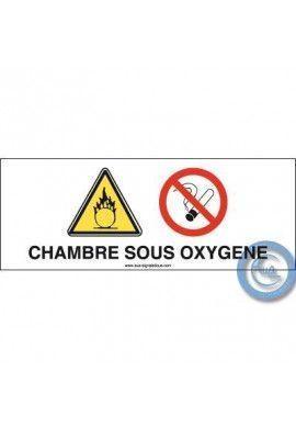 Consigne Chambre sous oxygène
