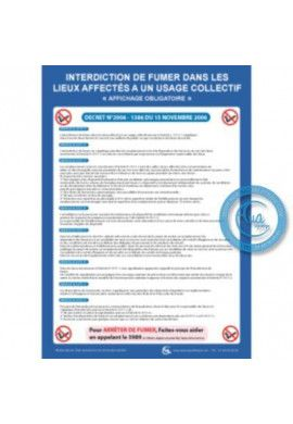 Consignes Interdiction de Fumer