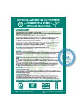Consignes Défibrillateur en Entreprise