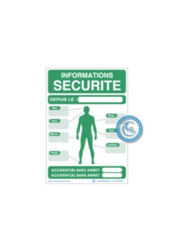 Consignes Informations Sécurité