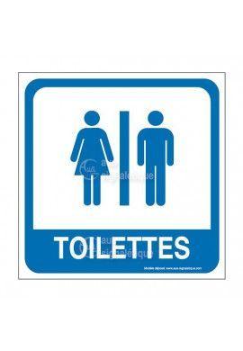 Toilettes H/F PvcSign