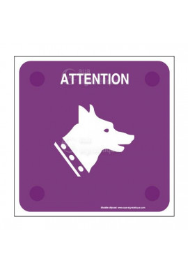 Attention Au Chien PlexiSign