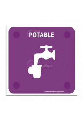 Eau potable PlexiSign