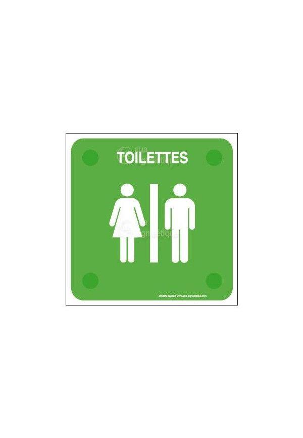 Ne rien jeter dans les WC PlexiSign
