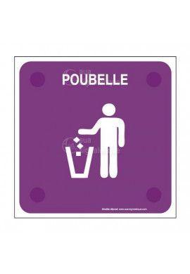 Poubelle PlexiSign