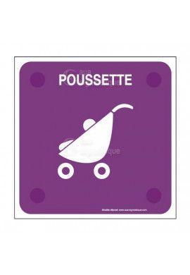 Poussette PlexiSign