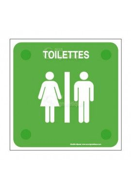 Toilettes handicapé PlexiSign