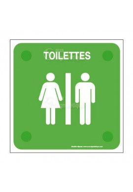 Toilettes handicapé PlexiSign