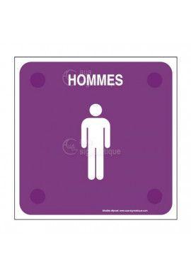 Toilettes Hommes PlexiSign
