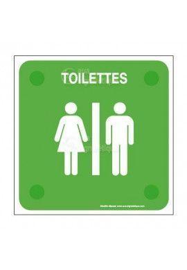 WC Femme Handicapé PlexiSign
