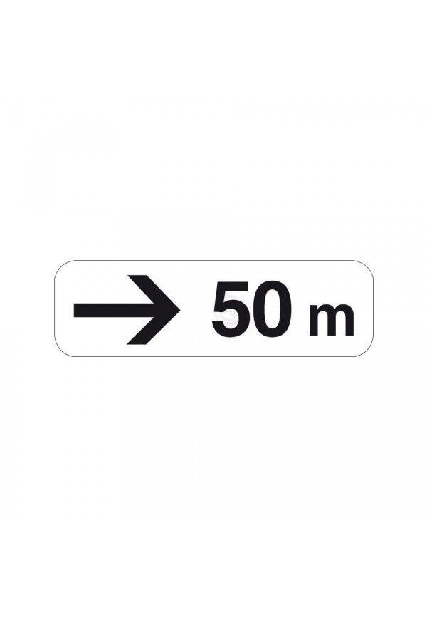 Panonceau directionnel avec distance - M3b3