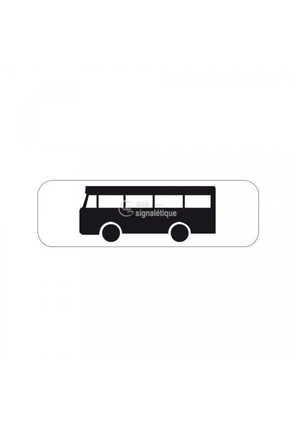 Panonceau bus - M4b