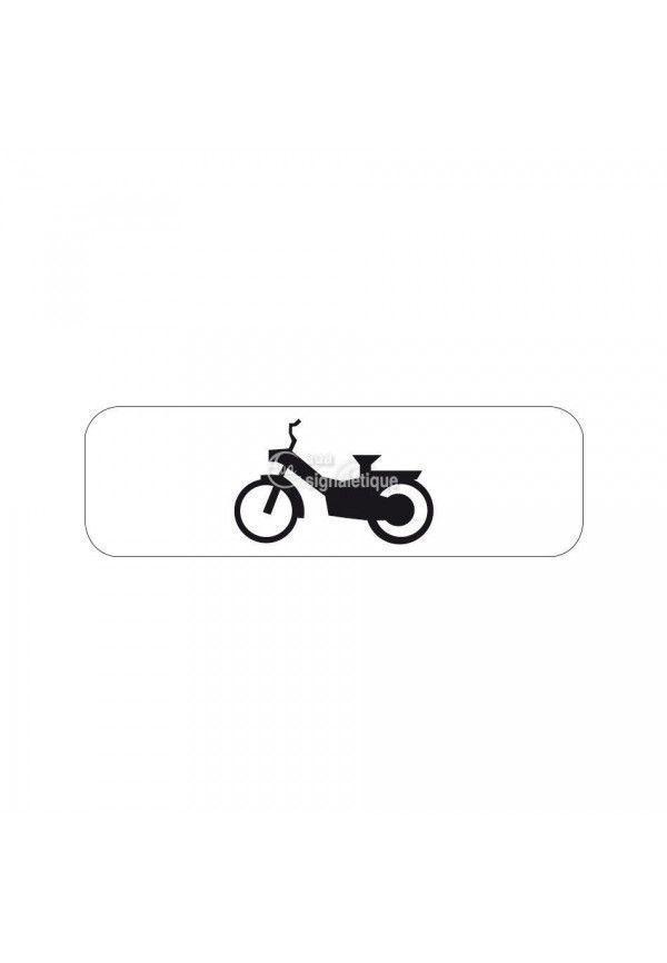 Panonceau cyclomoteur - M4d2