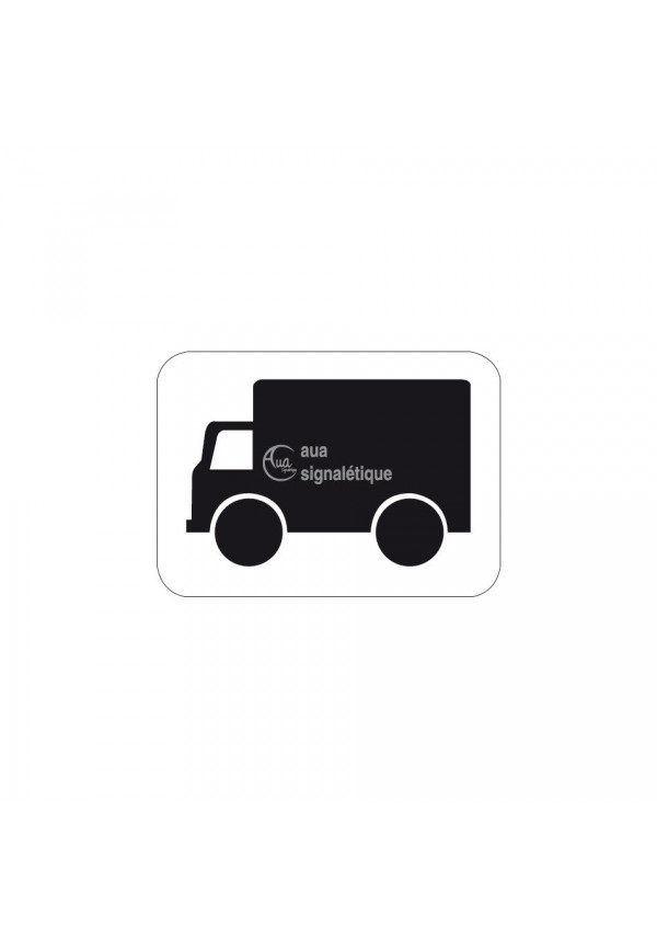 Panonceau véhicule transport de marchandises - M4g