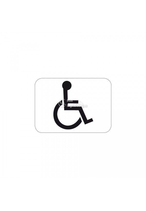 Panonceau handicapé - M4n