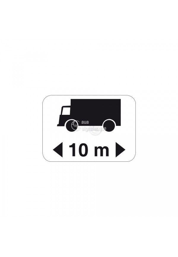 Panonceau longueur poids lourds - M4q