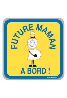 Panneau Future maman