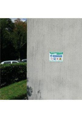 Panneau Horaires Skate-Parc