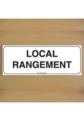 ClassicSign - Local Rangement