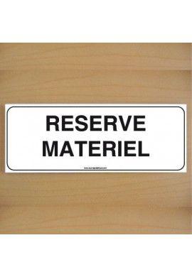 ClassicSign - Réserve Matériel