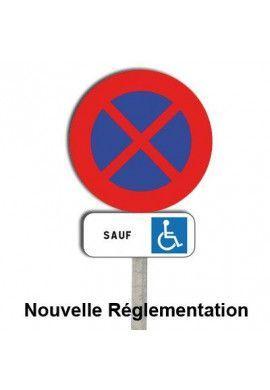 Kit Stationnement interdit + panonceau M6h