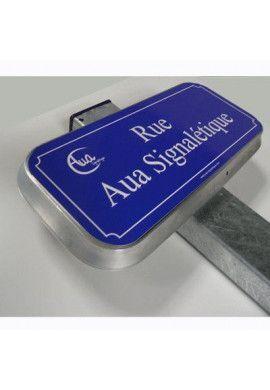Kit Panneau PLAQUE DE RUE aluminium type routier