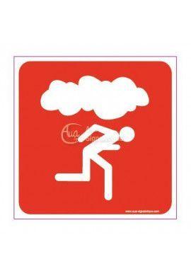 Panneau En cas de fumée