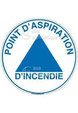 Panneau Point D'Aspiration Incendie