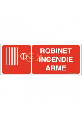 Panneau Robinet Incendie Arme