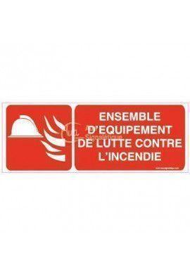 Panneau Ensemble d'équipement de lutte contre l'incendie - B