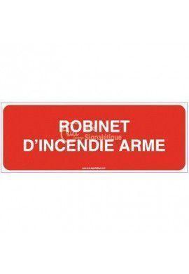 Panneau Robinet d'incendie armé - B