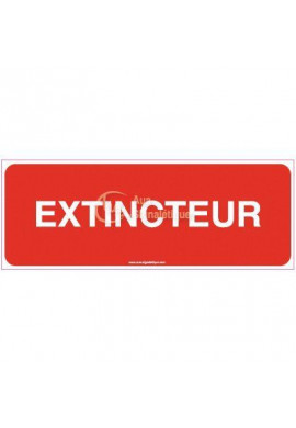 Panneau Extincteur - B