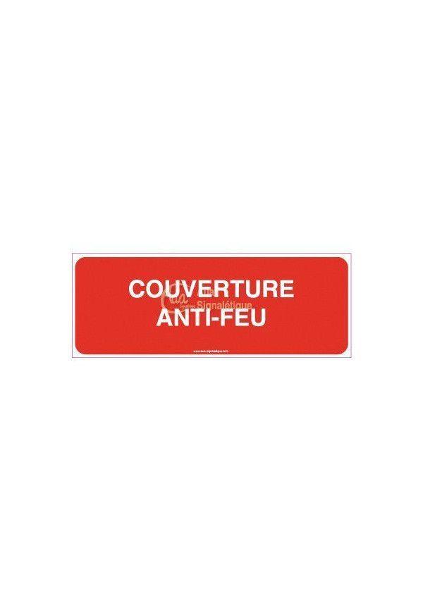 Panneau Couverture anti-feu rouge-B