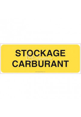 Panneau Stockage carburant - B