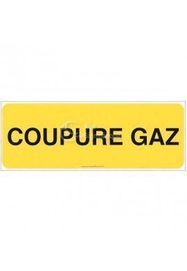 Panneau Coupure gaz - B