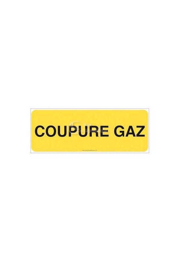 Panneau Coupure gaz-B