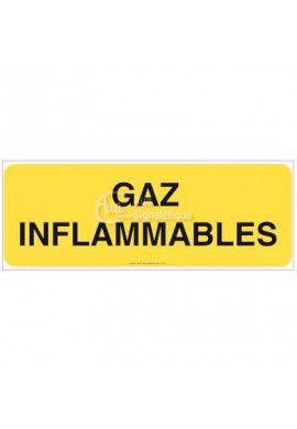 Panneau Gaz inflammables - B